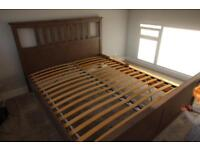 SOLD ***** IKEA HEMNES – King Size Bed