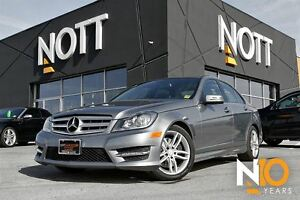 2013 Mercedes-Benz C-Class C300 4MATIC, AWD, Moon Roof, Low kms