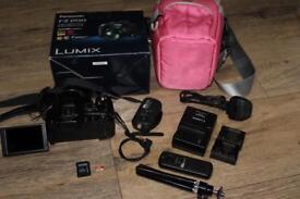 Panasonic Lumix DMC-FZ200 Camera + Case + 32gb Class 10 MMC