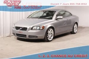 2008 Volvo C70 T5 CONVERTIBLE A/C CUIR MAGS