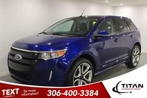 2013 Ford Edge Sport|AWD|Heated Leather|Nav