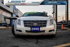 2009 Cadillac CTS V6-AUTO-LEATHER-SUNROOF-ALUMINUM WHEELS-MUCH M