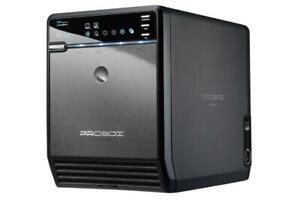 Mediasonic ProBox 4 Bay 3.5 SATA Hard Drive Enclosure - USB 2.0 & eSATA (HF2-SU2S2)