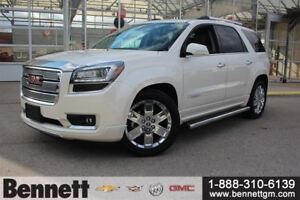 2015 GMC Acadia Denali - Heated and cooled Seats, Safety Package
