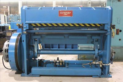 Braner 72 X 14 Cut-to-length-line Mechanical Shear B36934