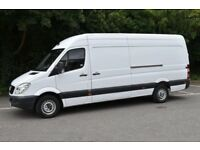 Man with van delivery service van hire removal service mover low price cheap local