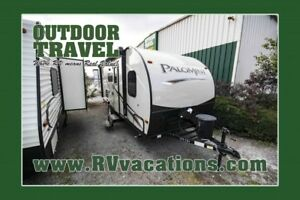 2018 FOREST RIVER Palomini 177BH Ultra Lite Travel Trailer