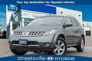 2007 Nissan Murano SE AWD LEATHER SUNROOF  ALLOYS