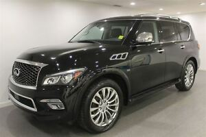 2016 Infiniti QX80 7 Pass|Nav|Sunroof|21186 KMS