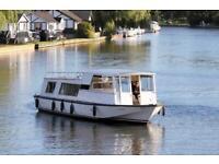 Powles 38 diesel, shaft drive boat, ideal liveaboard, river cruiser