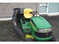 John Deere X120 Auto Lawn Mower Ride-On Lawnmower For Sale Armagh Area