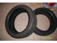 Part Worn Dunlop & Bridgestone Tyre 225/45/17