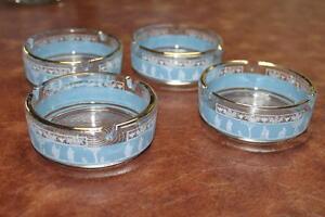 vtg. Jeannette Glass Grecian Blue Jasperware glassware 20 Piece Kingston Kingston Area image 7