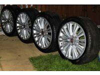"Genuine Jaguar Caravella 19"" Alloy wheels"