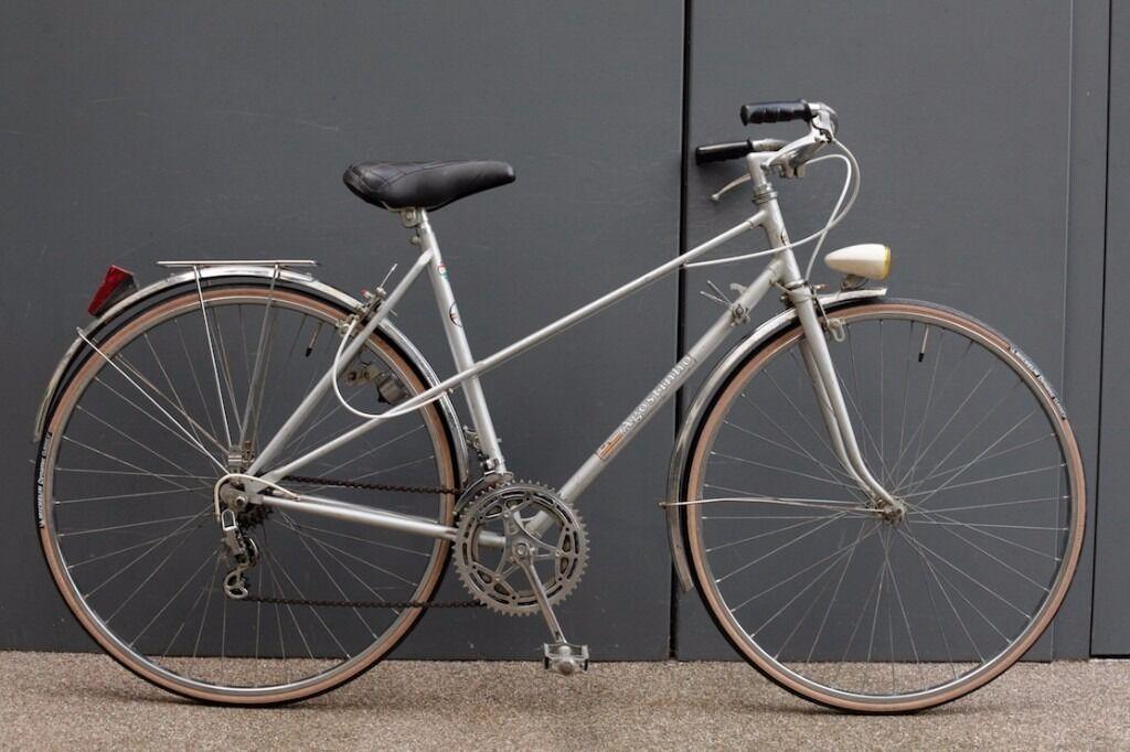 beautiful joaquin agostinho vintage french mixte frame ladies town bike with new tyres 52cm frame - Mixte Frame