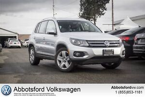 2014 Volkswagen Tiguan Comfrotline - Locally Owned/ No Claims
