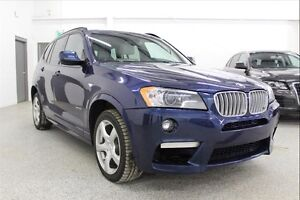 2013 BMW X3 35i - Navi, M sport Package, Panoramic Sunroof