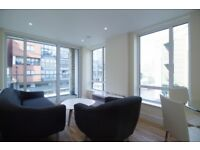 Modern 2 Bed 2 Bath Apartment to Rent in Westferry, Limehouse, E14, Canary Wharf, Canal Views- SA