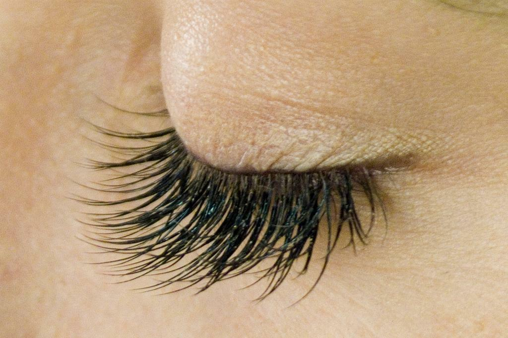 Individual Eyelash Extensions, Mink or Silk, Last 2-3