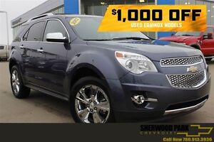 2013 Chevrolet Equinox LTZ V6 AWD| Sun| Nav| Heat Leath| Pwr LGa