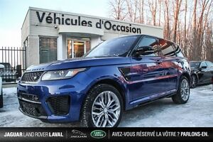 2016 Land Rover Range Rover Sport SVR V8 Supercharged Financemen