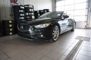 2014 Mazda MAZDA6 GT, NAVIGATION ,CUIR,TOIT,MAGS,JAMAIS ACCIDENT