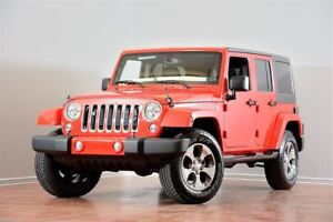 2016 Jeep WRANGLER UNLIMITED Sahara 4X4 NAV HITCH FREEDOMTOP