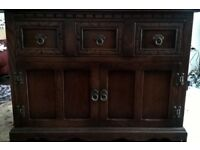 Old Charm audio, TV unit, sideboard