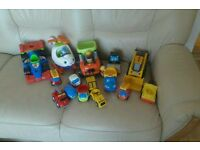 Job lot toy vehicles