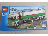LEGO CITY 3180 TANK TRUCK, Age 5-12, 100% COMPLETE with BOX and MANUAL