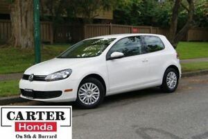 2013 Volkswagen Golf 2.5L Trendline + HEATED SEATS + LOCAL + LOW