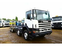 2002 SCANIA 114C 8X4 CHASSIS CAB FOR SALE IN LONDON UK SCOTLAND IRLEAND AFRICA MALAWI KENYA