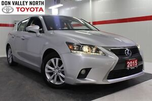 2015 Lexus CT 200h Heated Lthr Btooth Cruise Pwr Seats Alloys Pw
