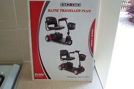 GO GO Elite Traveller Plus 4 Wheeled Mobility scooter.