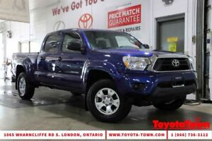 2015 Toyota Tacoma 4x4 DOUBLE CAB V6 SR5 POWER PACKAGE
