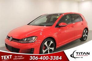 2015 Volkswagen Golf GTI Red|Nav|Heated Leather|Back-up Cam