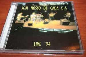 SOM NOSSO DE CADA DIA Live &#039;94 !!! PROGRESSIVE ROCK VERY RARE BRASL - <span itemprop=availableAtOrFrom>Poznan, Polska</span> - SOM NOSSO DE CADA DIA Live &#039;94 !!! PROGRESSIVE ROCK VERY RARE BRASL - Poznan, Polska