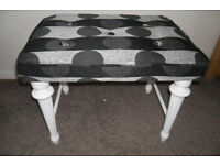 Re Upholstered Foot / Dressing table stool