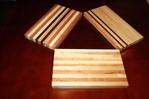 Hand Crafted Custom made Hardwood Cutting Board and Serving Board and Custom Engraving