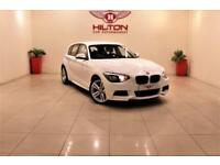 BMW 1 SERIES 2.0 118D M SPORT 5d 141 BHP NO DEPOSIT NEED - DRIV (white) 2014