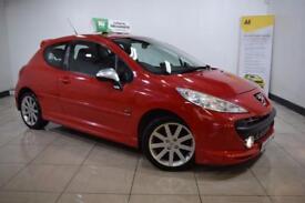 PEUGEOT 207 1.6 GTI PACK 3d 172 BHP (red) 2008