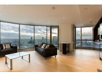 2 bed 2 bath to rent in the luxurious Charrington Tower 11 Biscayne Avenue E14