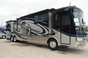 2011 Monaco Diplomat 43 5-Slide Diesel Pusher Tag Axle -