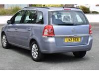 Vauxhall Zafria 7 seater