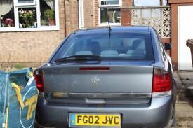 2002 Vauxhall vectra for breaking