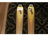 Coors American beer promo skis