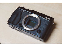 Fujifilm X series X-E1 16.3MP Digital Camera - Black (Body Only) BOXED