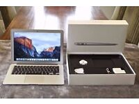 """***MACBOOK AIR 13.3"""" BOXED 2.7GHz i5,4gb RAM, SSD HD,OFFICE 2016, PREMIUM SOFTWARE,"""