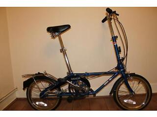 Dahon classic iii 3 folding commuter bike with bag and manual