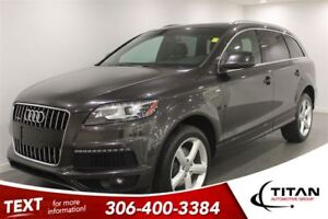 2013 Audi Q7 Prestige S-Line|AWD|Supercharged|Nav|Leather